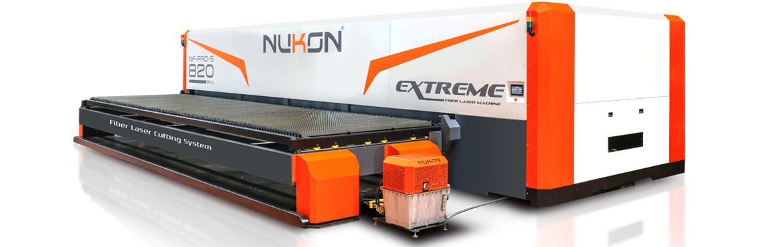 Fiber laser cutting machine NF PRO 820